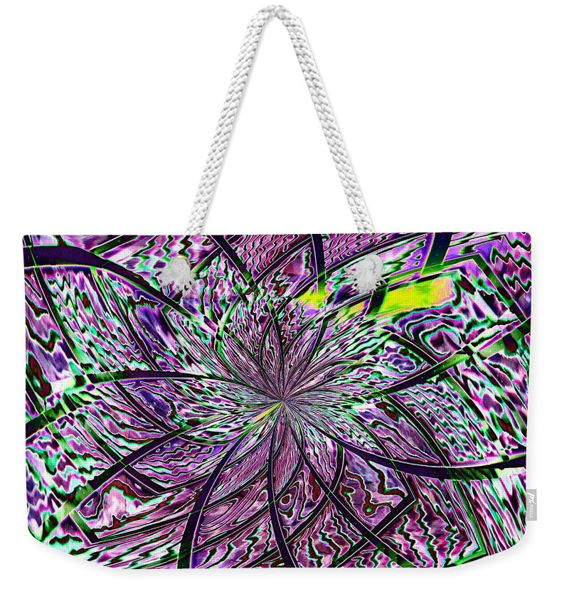 Library Weekender Tote Bag featuring the photograph Library Abstract 2 by Tim Allen