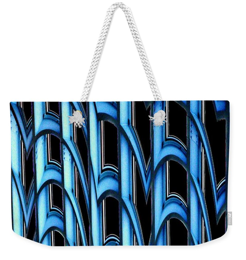 Seattle Weekender Tote Bag featuring the photograph Library Abstract by Tim Allen