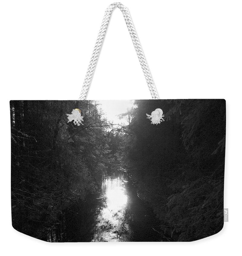 Lehtokukka Weekender Tote Bag featuring the photograph Liesijoki 2 by Jouko Lehto