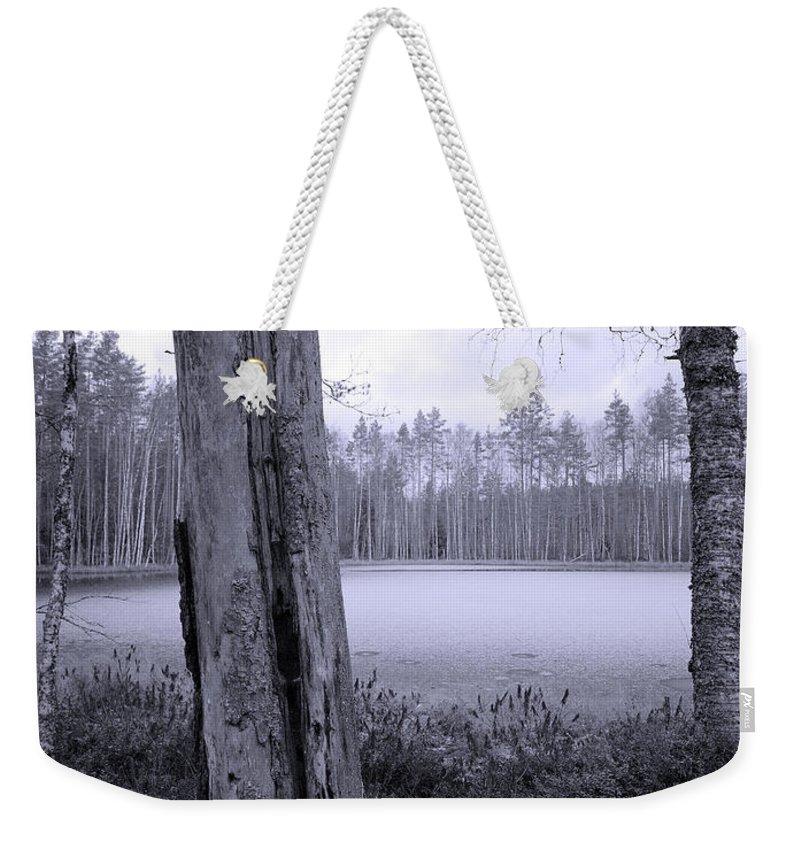 Lehtokukka Weekender Tote Bag featuring the photograph Liesilampi 4 by Jouko Lehto