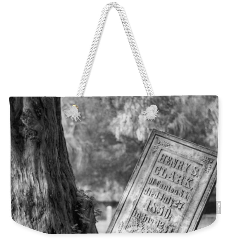 Graves Weekender Tote Bag featuring the photograph Life After Death by Richard Rizzo