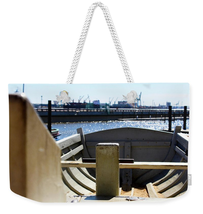 Lifeboat Weekender Tote Bag featuring the photograph Life Boat 4 1 by Tyquill Williams