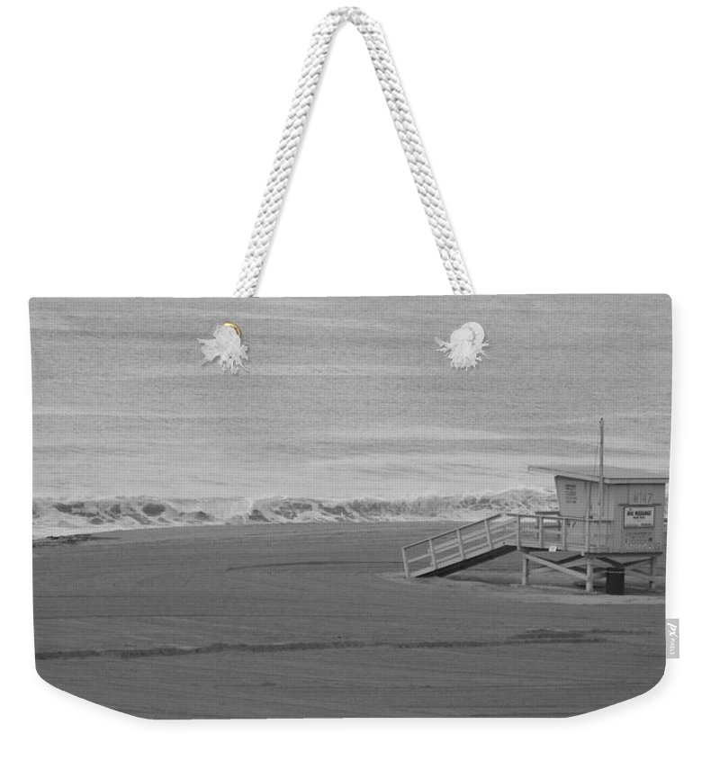 Beaches Weekender Tote Bag featuring the photograph Life Guard Stand by Shari Chavira