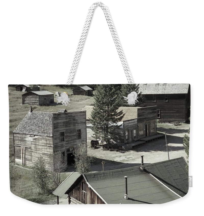 Ghost Towns Weekender Tote Bag featuring the photograph Life In A Ghost Town by Richard Rizzo
