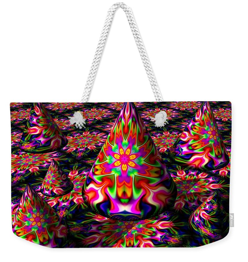 Party Weekender Tote Bag featuring the digital art Life Of The Party by Robert Orinski