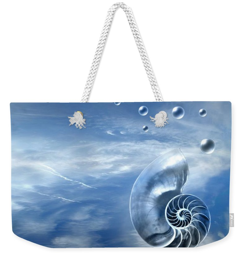 Surreal Weekender Tote Bag featuring the photograph Life by Jacky Gerritsen