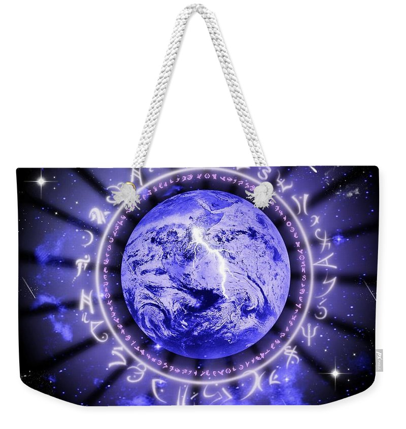 Life Weekender Tote Bag featuring the digital art Life by Rhonda Barrett