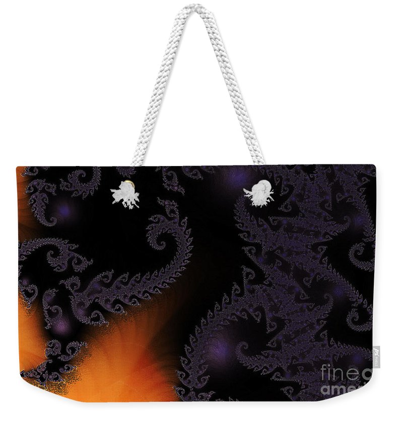 Clay Weekender Tote Bag featuring the digital art Life Under Glass by Clayton Bruster