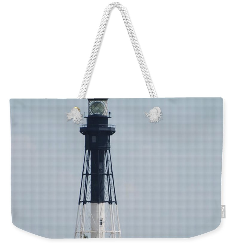 Landscape Weekender Tote Bag featuring the photograph Light House by Rob Hans