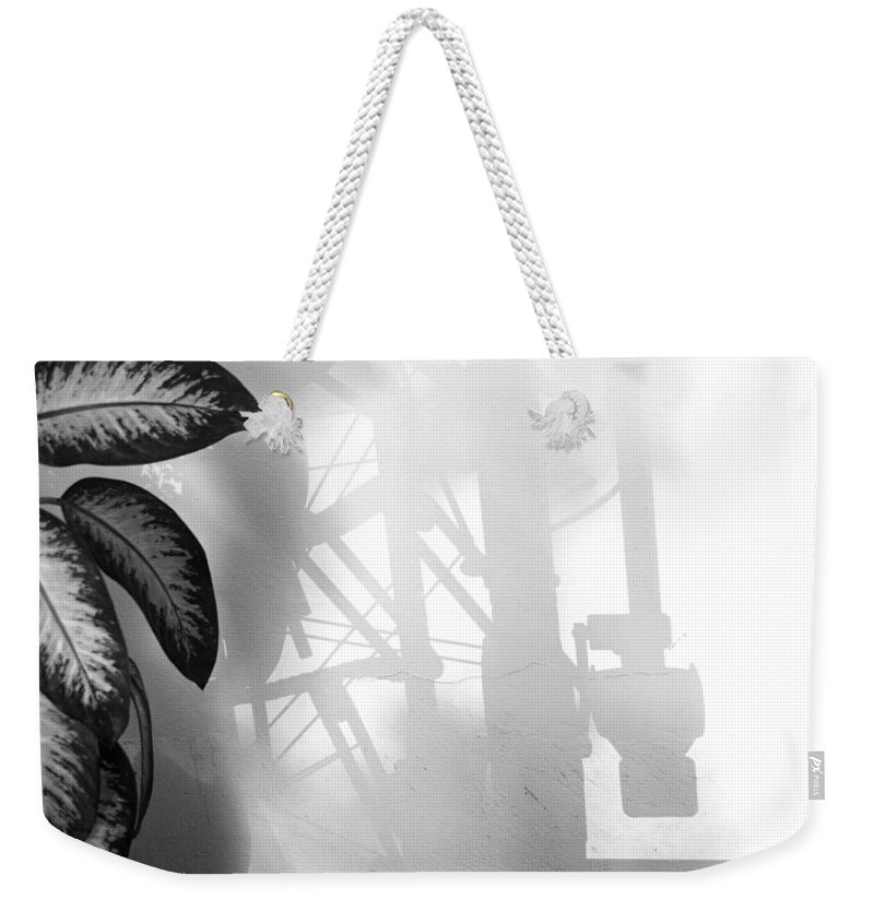 Art Weekender Tote Bag featuring the photograph Light Language Liited Edition 1 Of 1 by Ordi Calder