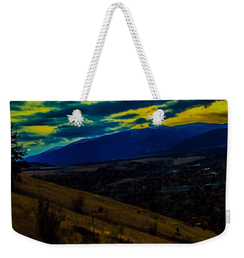 Weekender Tote Bag featuring the photograph Light Of Life by Dan Hassett