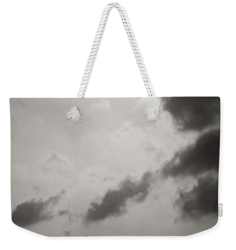 Abstract Weekender Tote Bag featuring the photograph Light Of The Sky by Konstantin Dikovsky