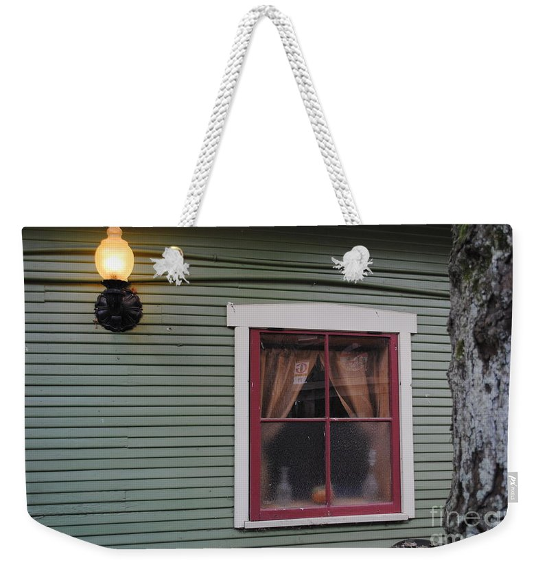 Window Weekender Tote Bag featuring the photograph Light Of The Window by Jost Houk