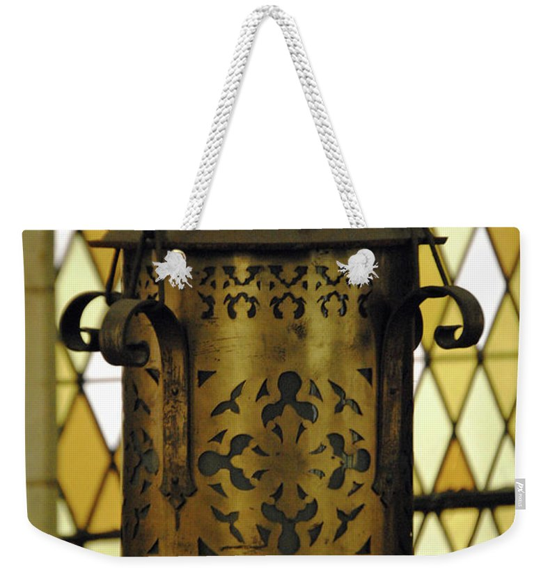 Augustana Weekender Tote Bag featuring the photograph Light Of The World by Jost Houk