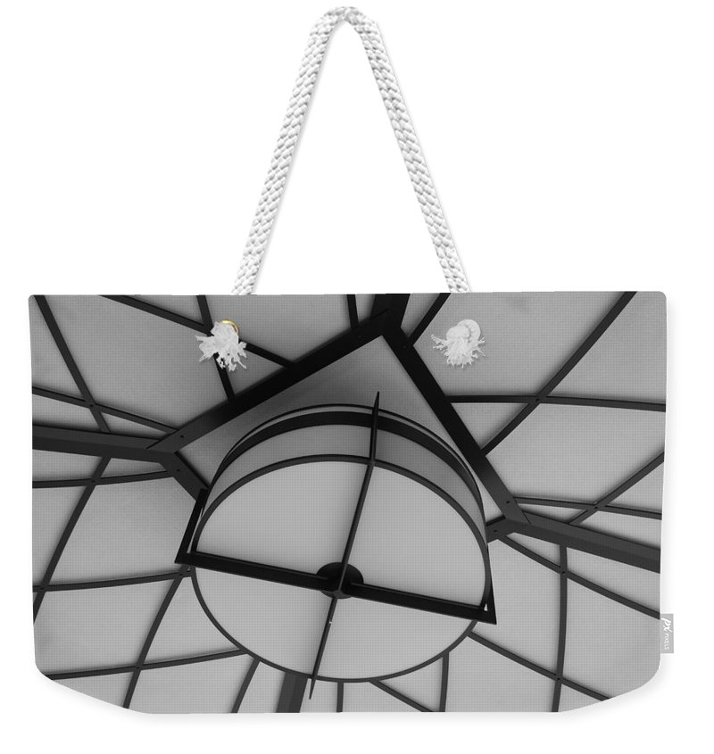 Architecture Weekender Tote Bag featuring the photograph Lighted Box by Rob Hans