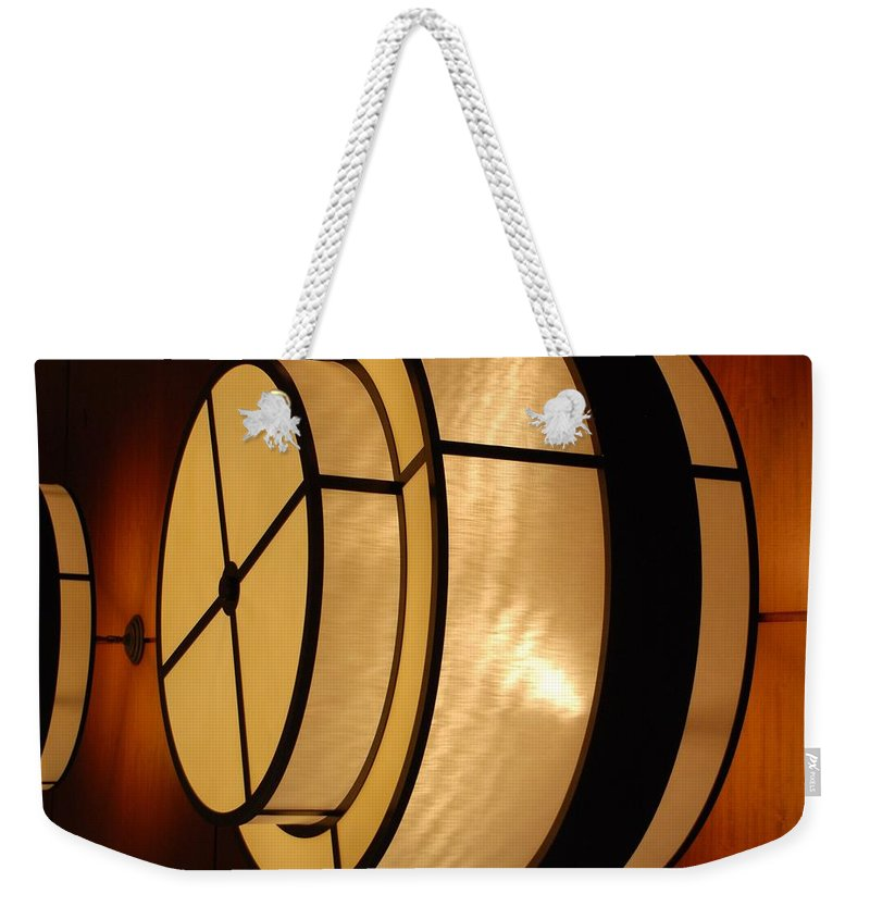 Pop Art Weekender Tote Bag featuring the photograph Lighted Wall by Rob Hans