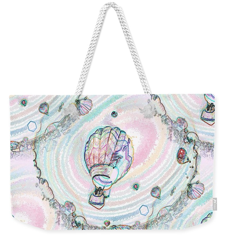 Balloons Weekender Tote Bag featuring the photograph Lighter Than Air by Tim Allen