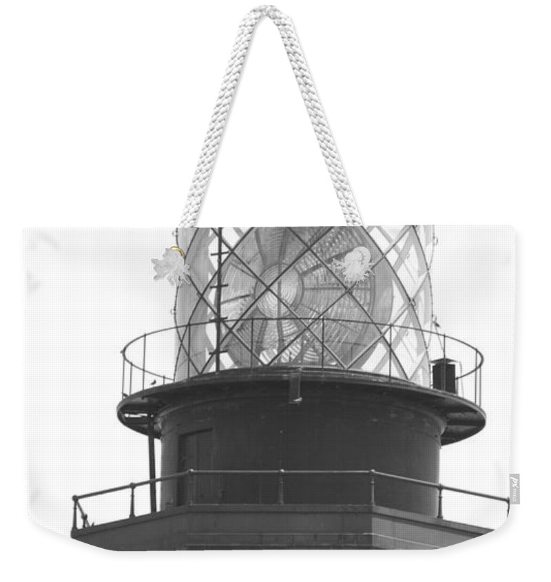 Landscape Weekender Tote Bag featuring the photograph Lighthouse Light by Rob Hans