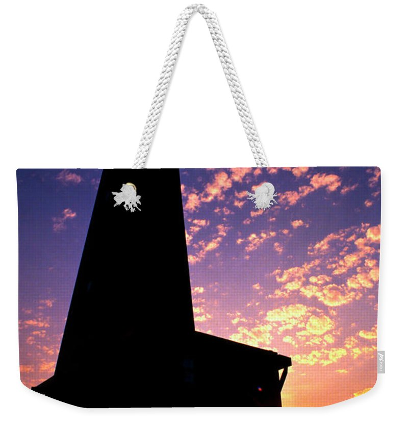 Photography Weekender Tote Bag featuring the photograph Lighthouse Lovers by Frederic A Reinecke