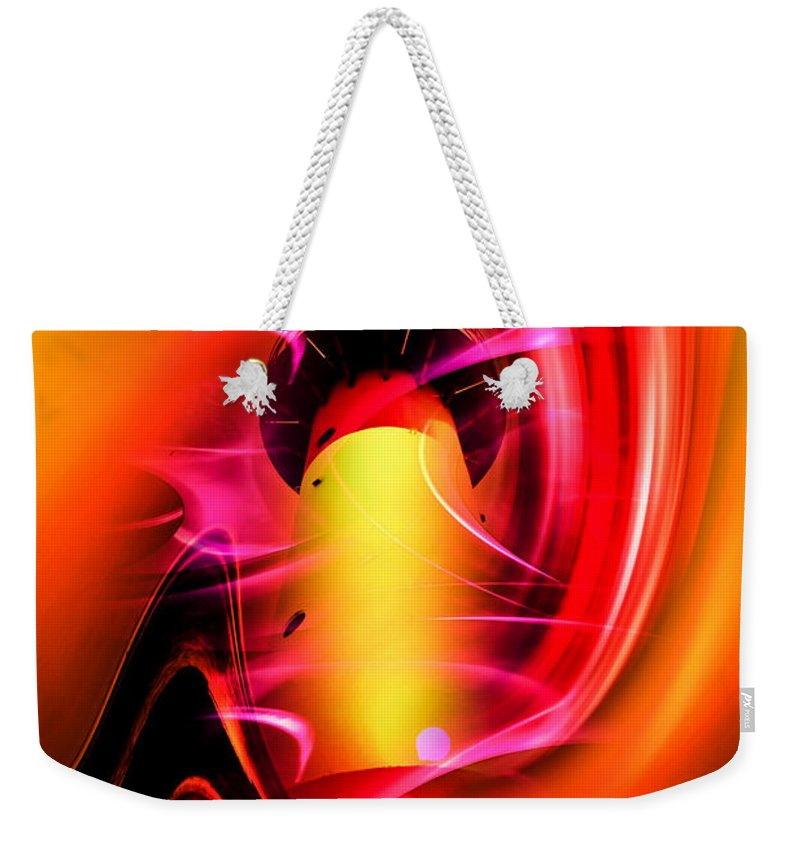 Lighthouse Weekender Tote Bag featuring the photograph Lighthouse Romance 3 by Walter Zettl
