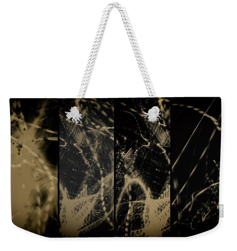 Prints And Posters Weekender Tote Bag featuring the photograph Lightpainting Quads Art Print Photograph 4 by John Williams