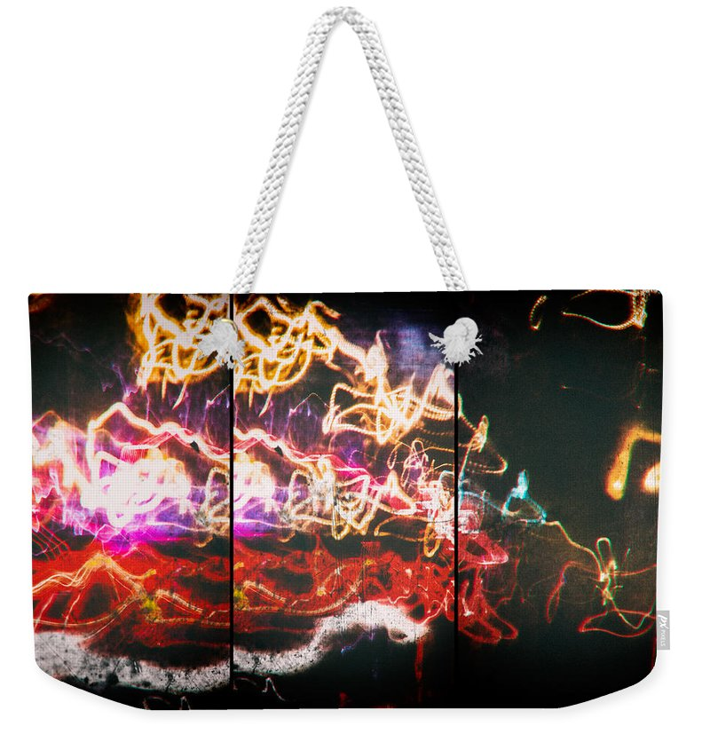 Psyche Weekender Tote Bag featuring the photograph Horror Of Grain by John Williams