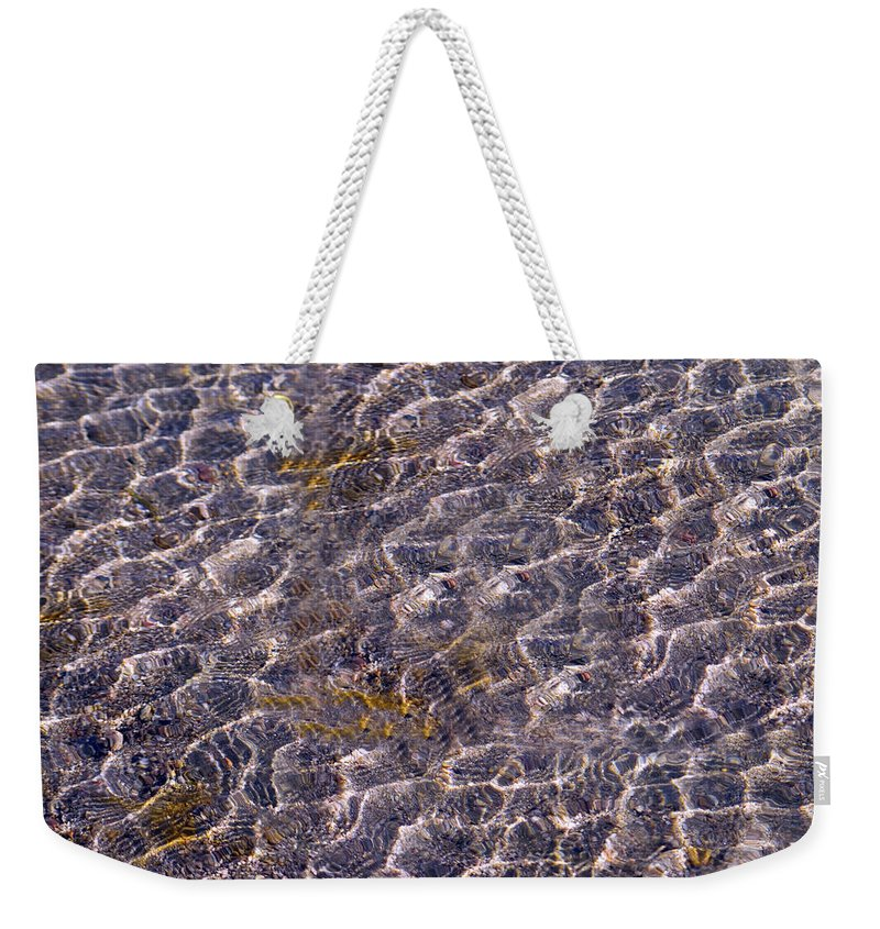 Lake Weekender Tote Bag featuring the photograph Lilly Lake by Mark Ivins