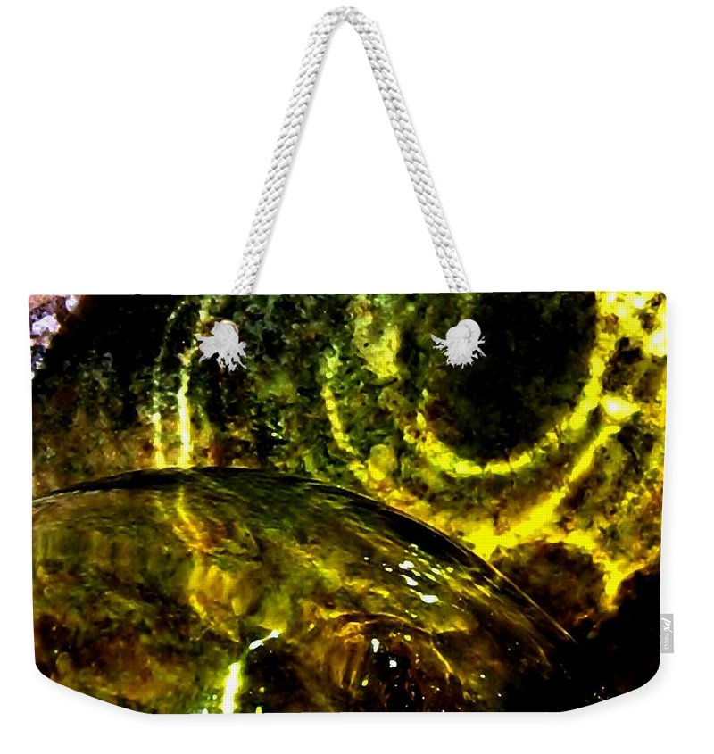 Glass Ball Weekender Tote Bag featuring the photograph Limelight by Will Borden