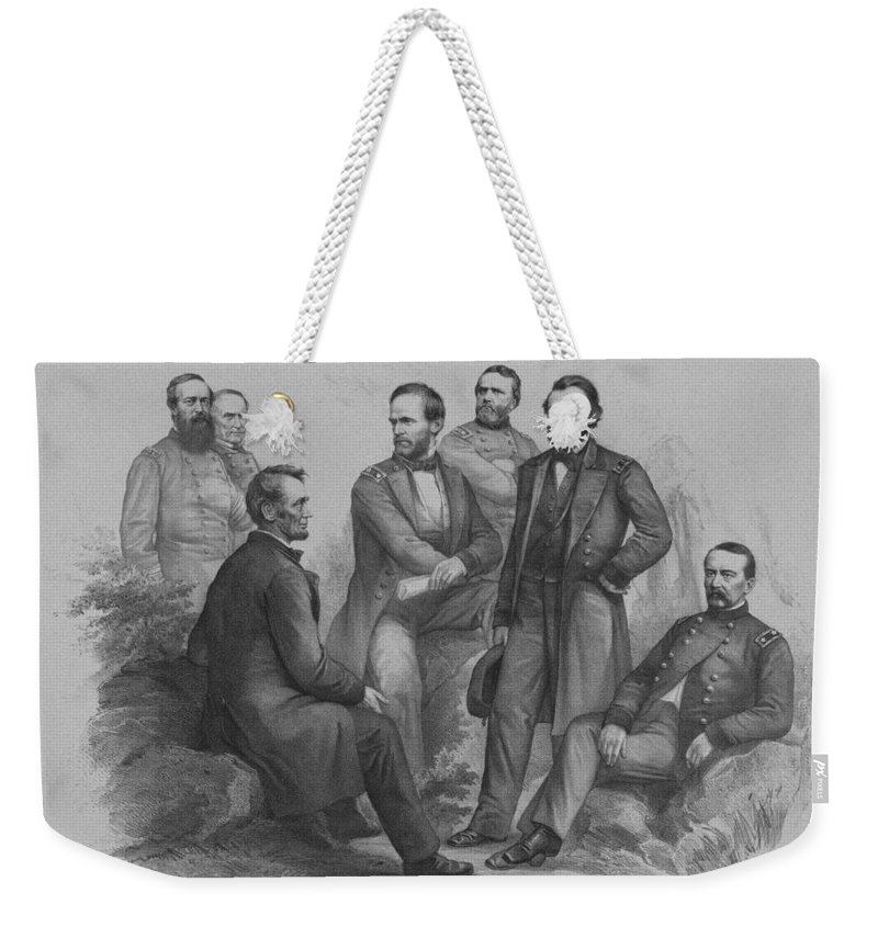 Civil War Weekender Tote Bags