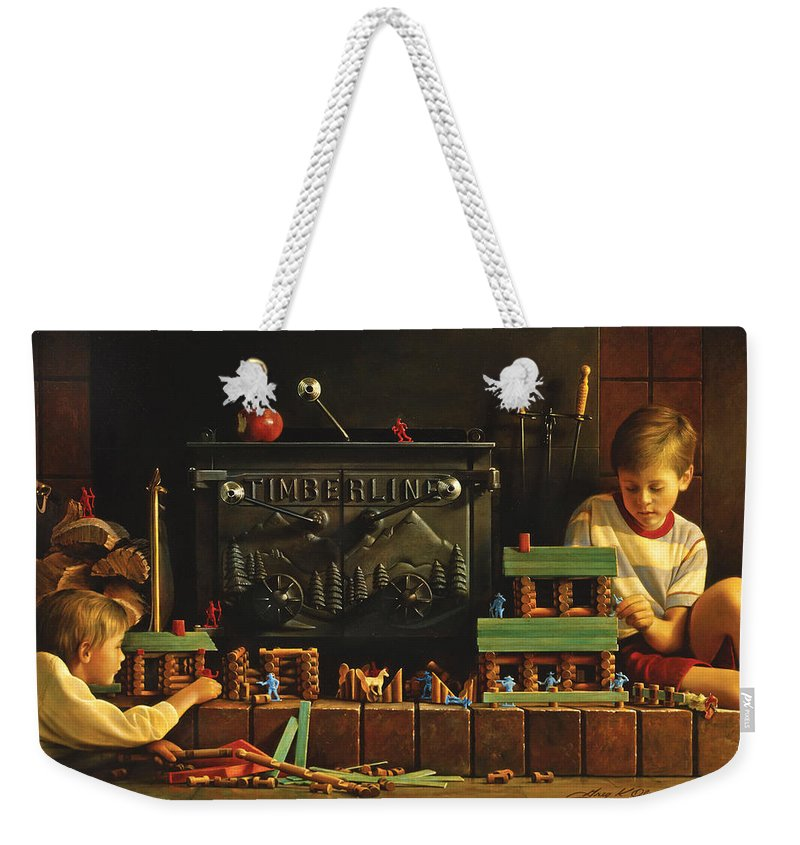 Playing Weekender Tote Bags
