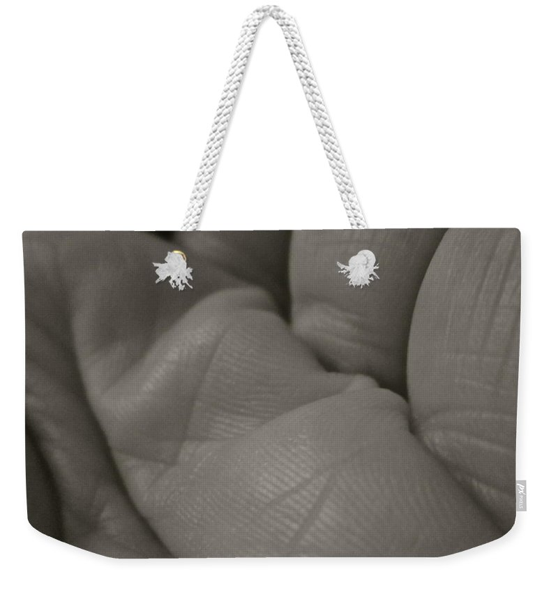 Lines Weekender Tote Bag featuring the photograph Lines by Gwyn Newcombe
