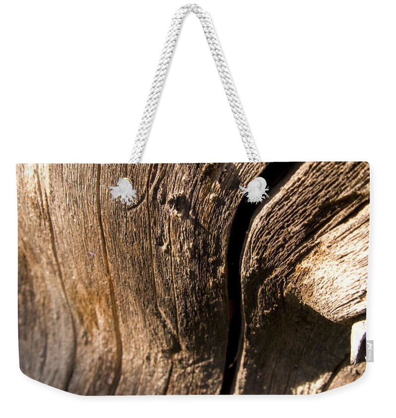 Landscape Weekender Tote Bag featuring the photograph Lines Of Nature by Jeffery Ball