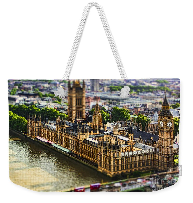 Big Ben Weekender Tote Bag featuring the photograph Little Ben by Andrew Paranavitana