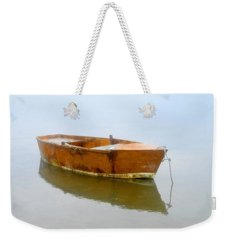 Boat Weekender Tote Bag featuring the photograph Little Boat by David Lee Thompson