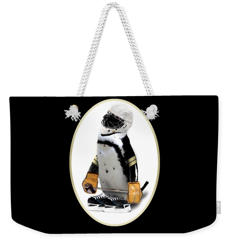 Penguin Weekender Tote Bag featuring the photograph Little Mascot by Gravityx9  Designs