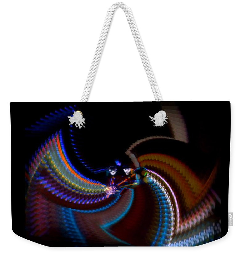 Chaos Weekender Tote Bag featuring the photograph Little Wing by Charles Stuart