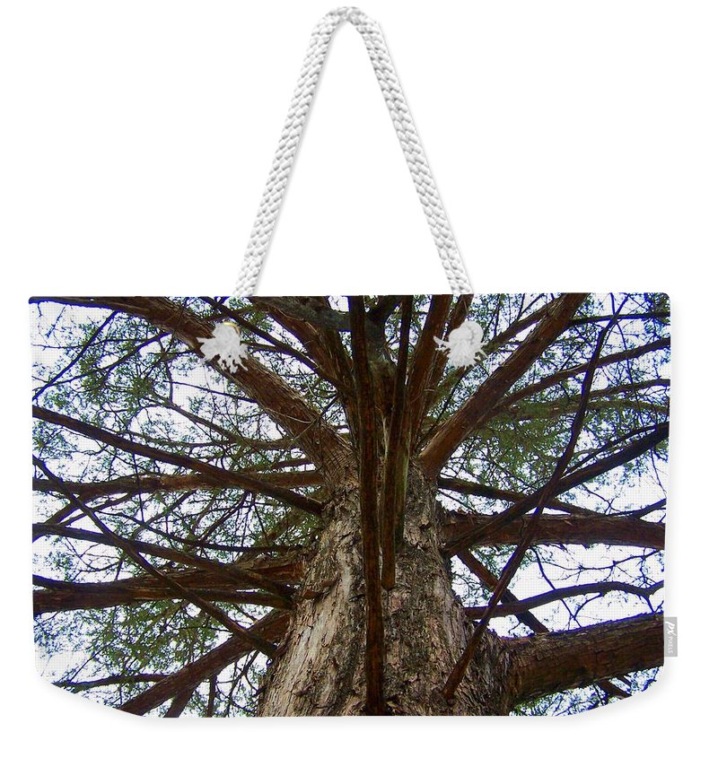 Life Weekender Tote Bag featuring the photograph Live Spokes by Nadine Rippelmeyer