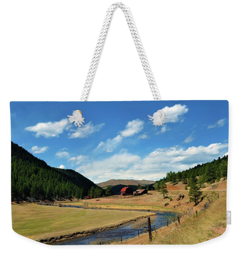 Valley Weekender Tote Bag featuring the photograph Living In The Valley by Angelina Tamez