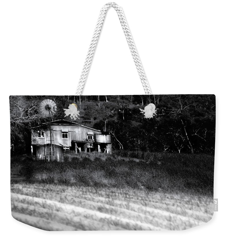 Landscapes Weekender Tote Bag featuring the photograph Living On The Land by Holly Kempe
