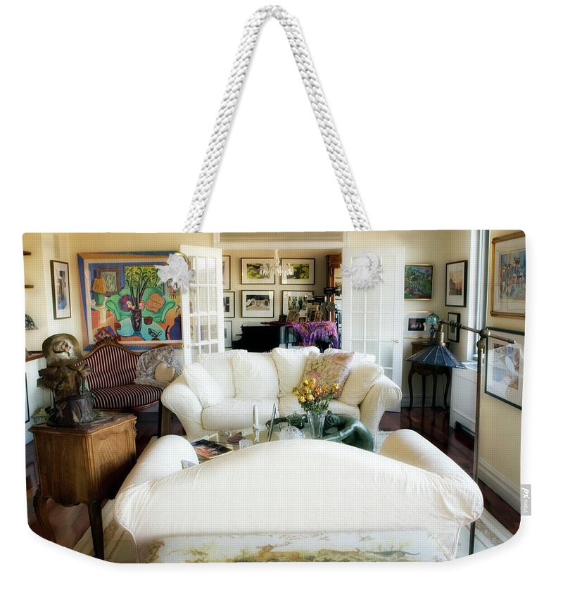 Living Room Weekender Tote Bag featuring the photograph Living Room Iv by Madeline Ellis