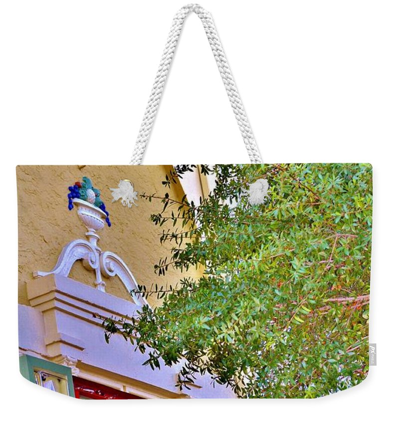 Local Broadway Weekender Tote Bag featuring the photograph Local Broadway by Lisa Renee Ludlum