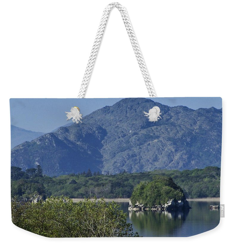 Irish Weekender Tote Bag featuring the photograph Loch Leanne Killarney Ireland by Teresa Mucha