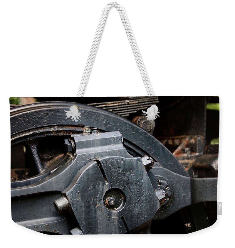 Antique Weekender Tote Bag featuring the photograph Locomotion by Alan Look