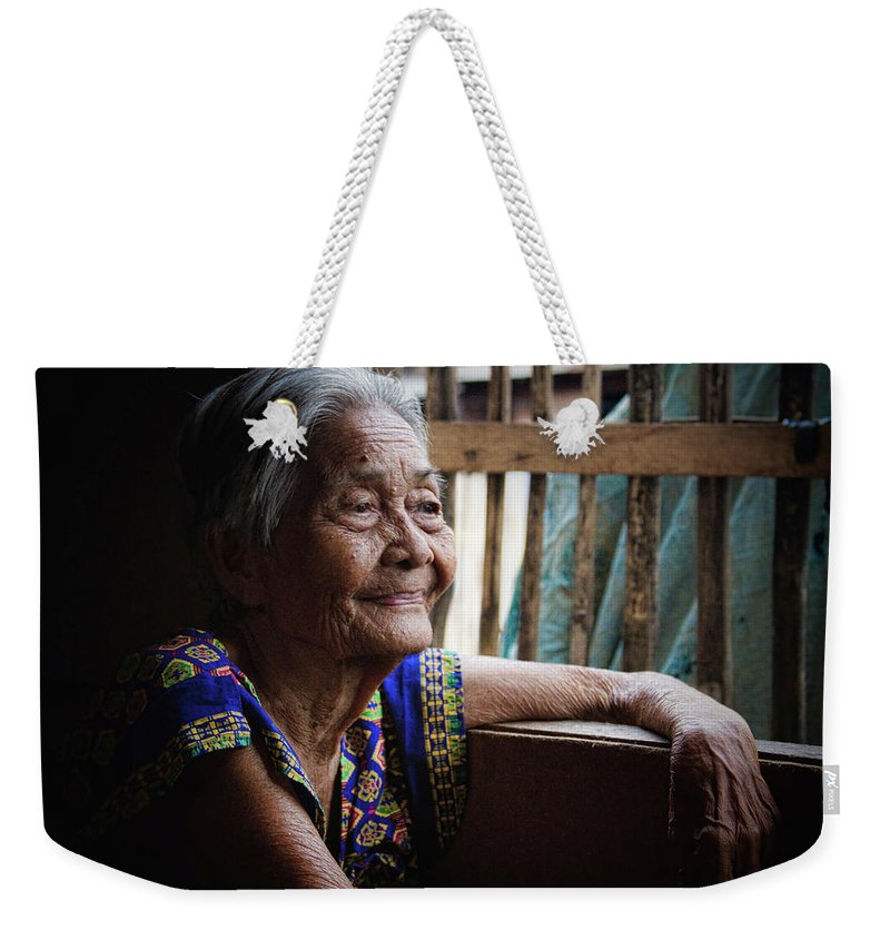 Philippines Weekender Tote Bag featuring the photograph Lola by James BO Insogna