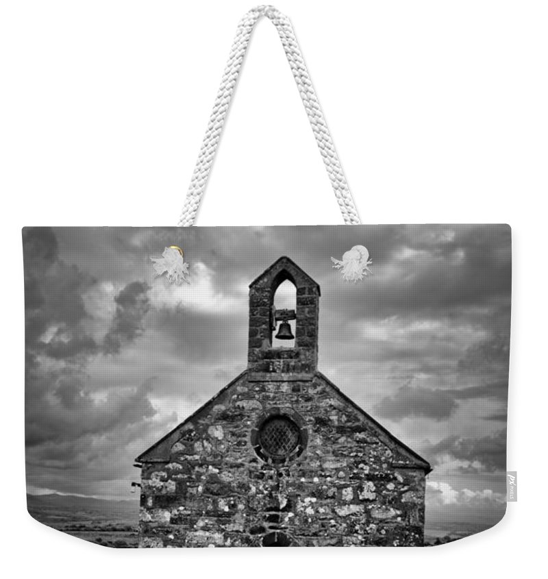 Lone Weekender Tote Bag featuring the photograph Lonely Chapel by Brainwave Pictures