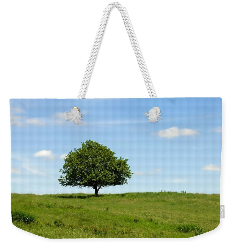 Tree Weekender Tote Bag featuring the photograph Loner by David Arment