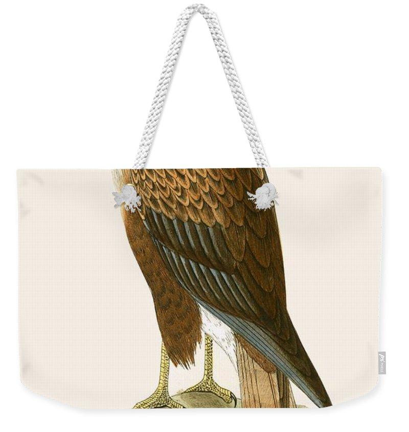 Buzzard Weekender Tote Bags