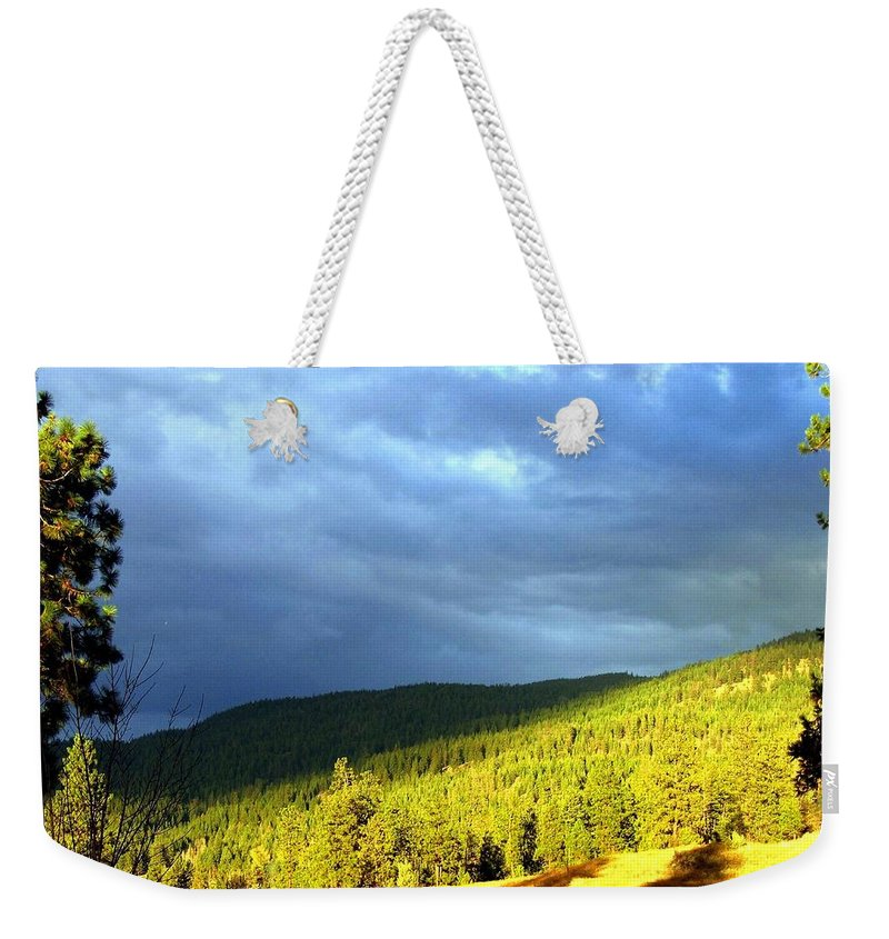 Shadows Weekender Tote Bag featuring the photograph Long Shadows by Will Borden