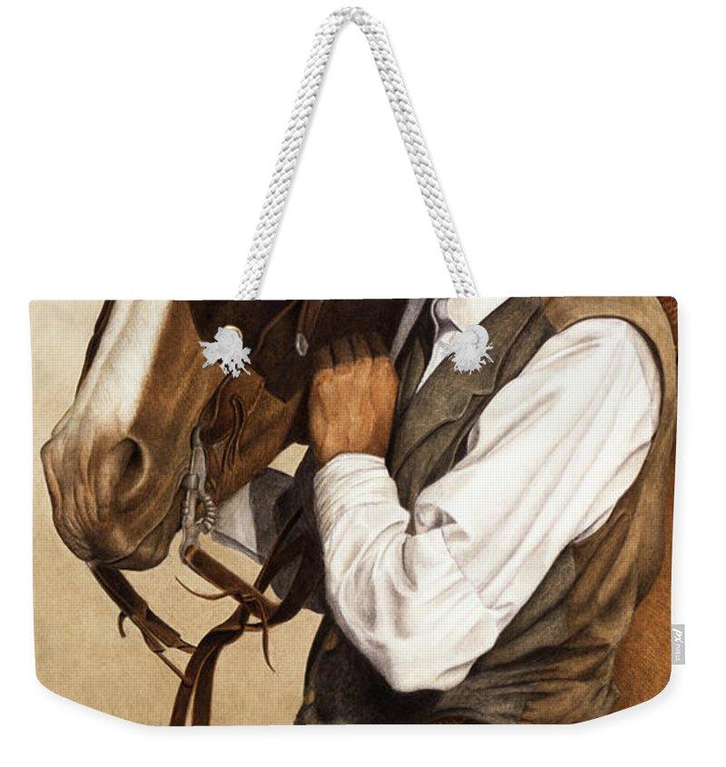 Cowboy Weekender Tote Bags