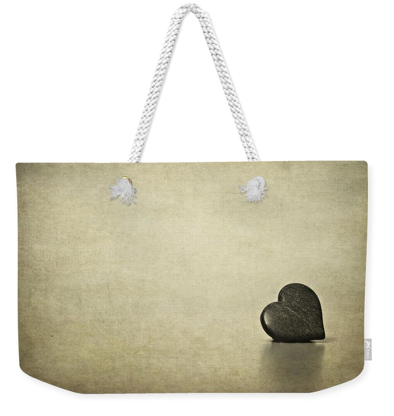 Heart Weekender Tote Bag featuring the photograph Longing by Evelina Kremsdorf
